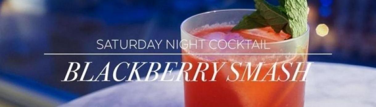 Saturday Cocktail: Blackberry Smash