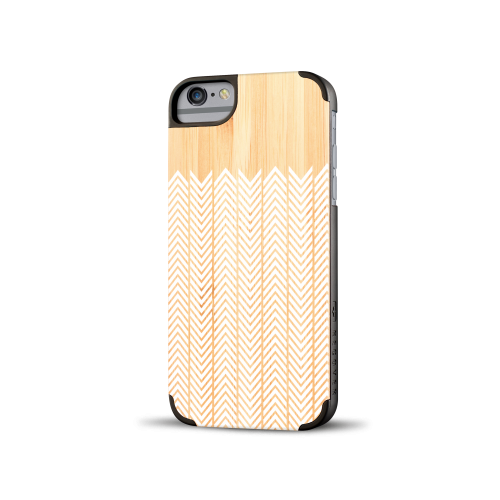 Printed Feather Bamboo iPhone 6 Case
