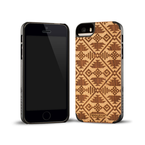 Pendleton Coyote Butte Engraved Cherry iPhone 5/5s Case