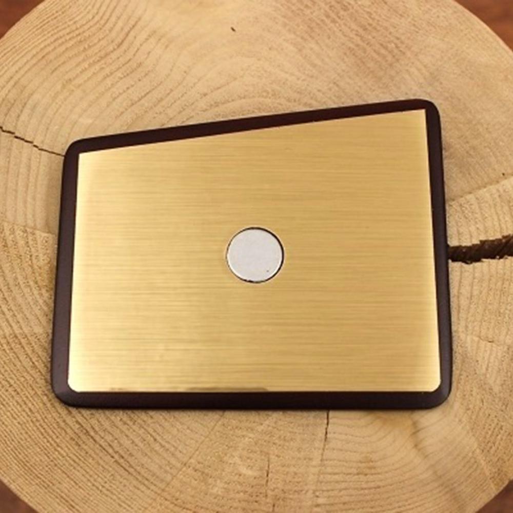 Wooden Pocket Square   Gold Member   Baffi   Rosewood