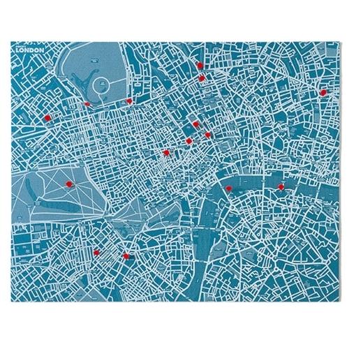 Pin City London - Blue