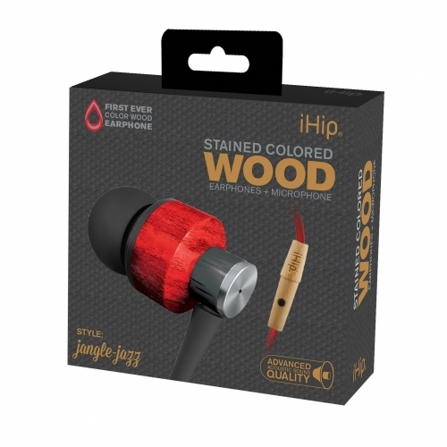 Jangle Jazz Wood Earphone