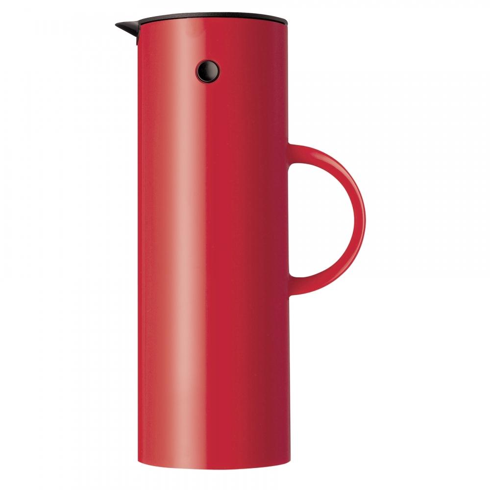 Vacuum Jug, Red, Stelton