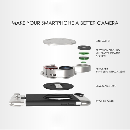Lite Camera Kit for iPhone 6 Plus - Ztylus