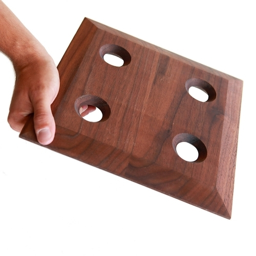 Wooden Glasses Tray | Cupa-Lift 4 | Sempli