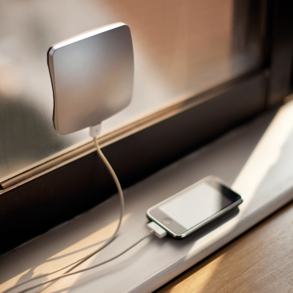 Window Solar Charger, Silver, XD Design