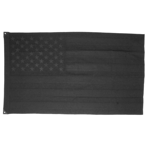 Wool American Flag, Black