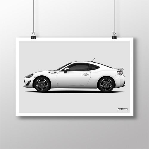 Toyota 86/GT86 Print