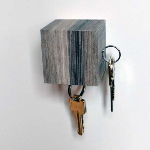 Kube Key Holder, Grey