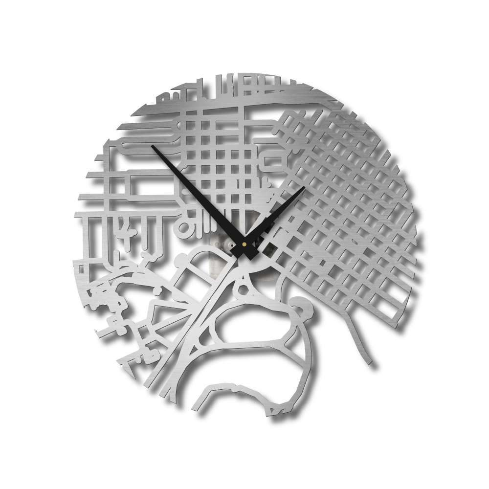 Houston Hermann Clock | Urban Story | Map Street Clock