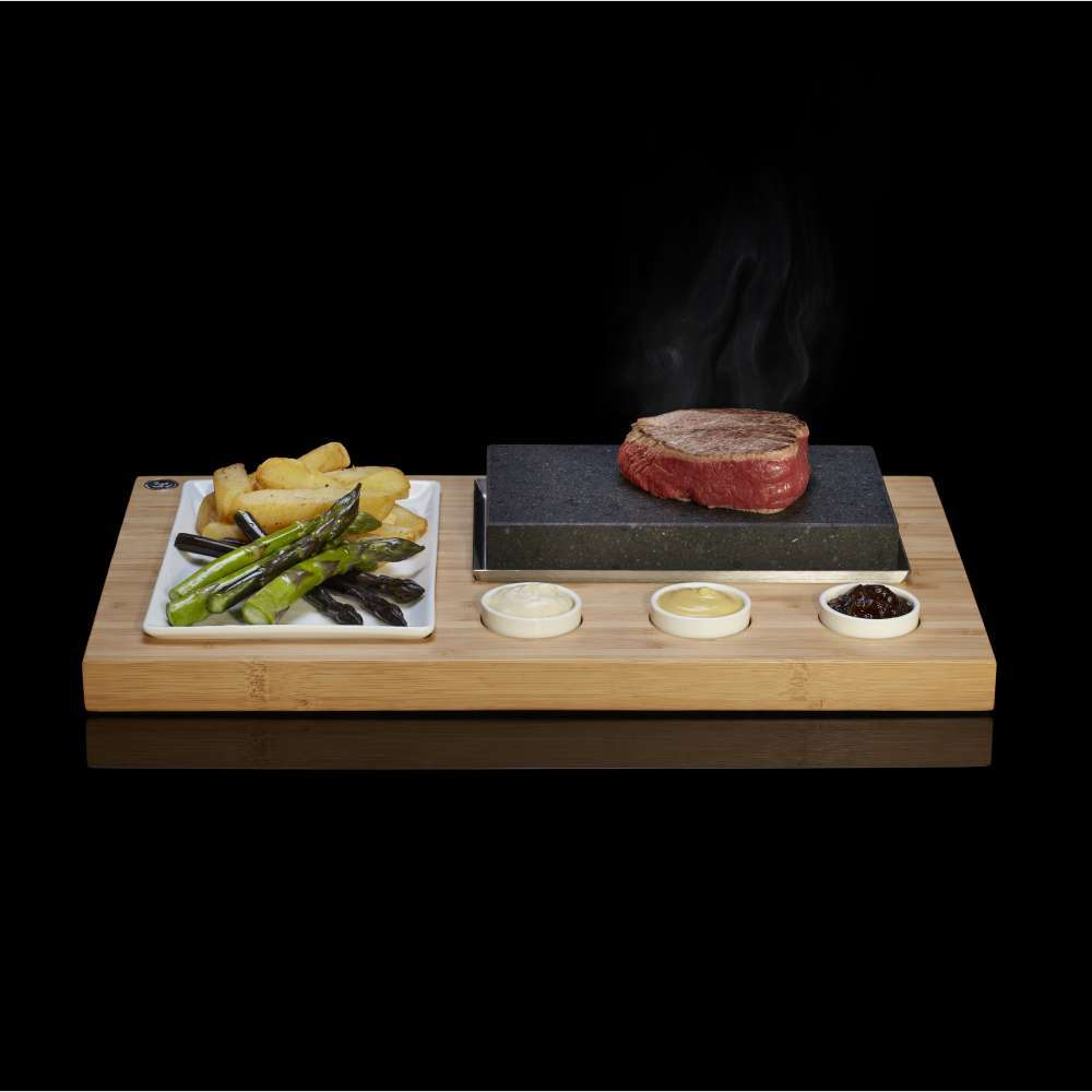 Sizzling Steak Set - A Fresh, Fun and Healthy Way to Cook