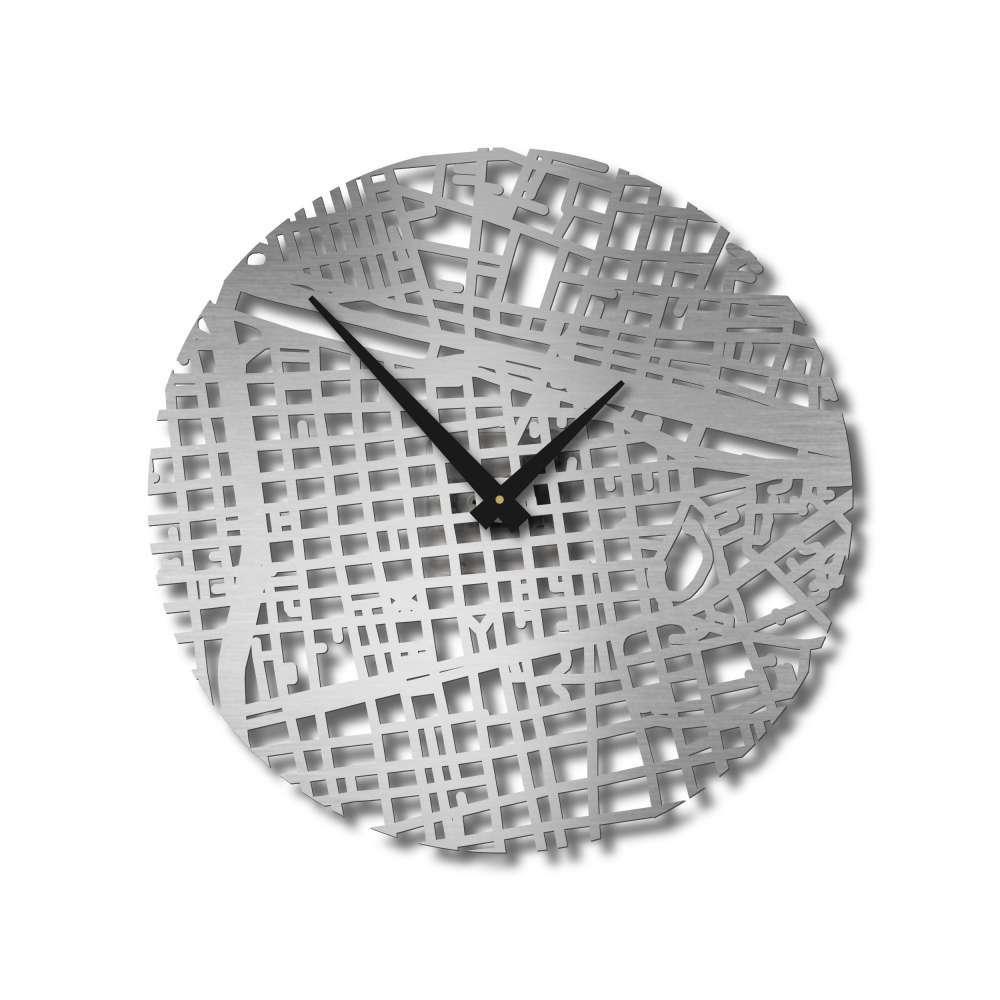 Santiago Clock | Urban Story | Wall Timepieces | Map Clocks