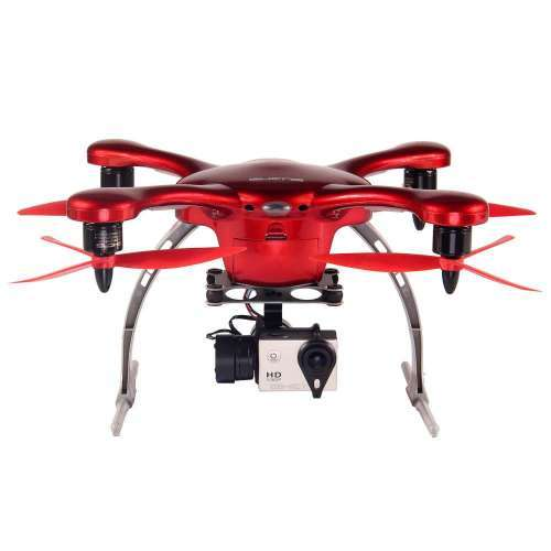 Ghost Aerial Drone for Android, Red