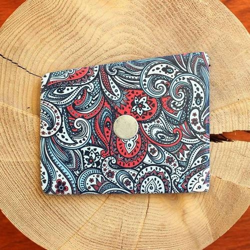 Wooden Pocket Square | Paisley | Baffi | Baltic Birch Wood