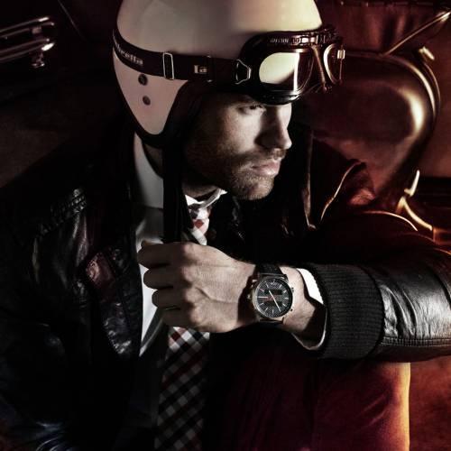 Avanti Leather Black | Lambretta Watches