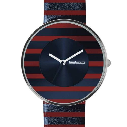 Cielo Stripes Red | Lambretta Watches