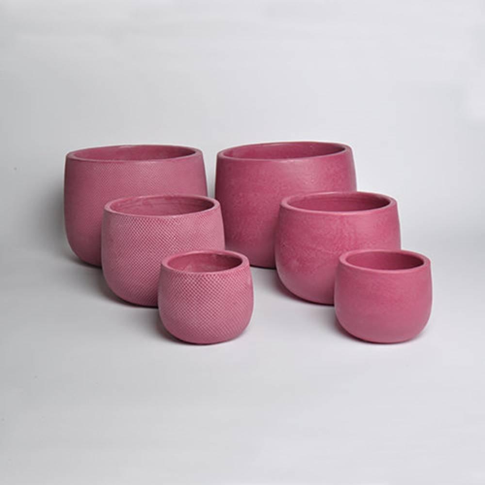 Micmac Pot, Set of 3 - Vietnamese Red Clay Pot