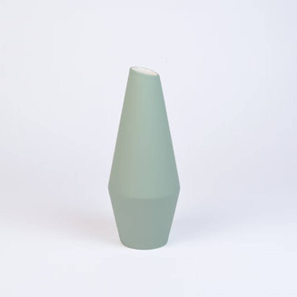 Crooked Vase, Soft Green -  Classy Ceramic Vase