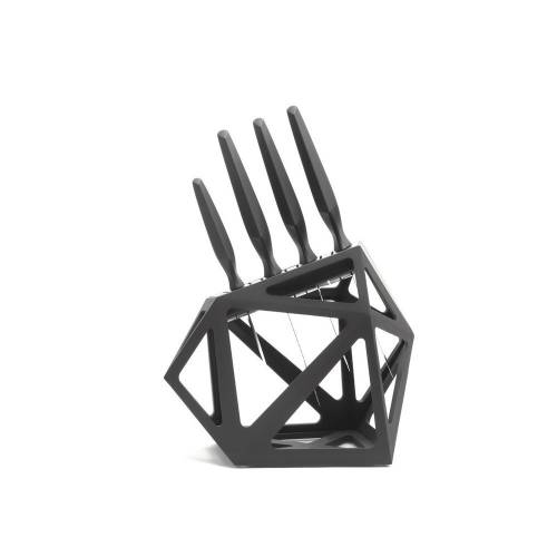 Knife Block   Black Diamond   Edge of Belgravia