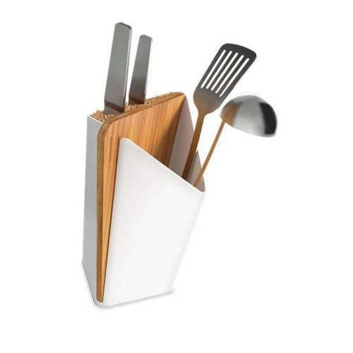 Utensil / Knife Holder + Board
