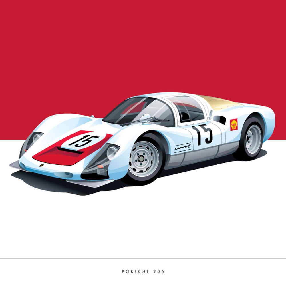 Porsche 906 - Arthur Schening