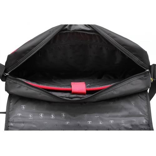 Black Active Messenger Bag - Ferrari