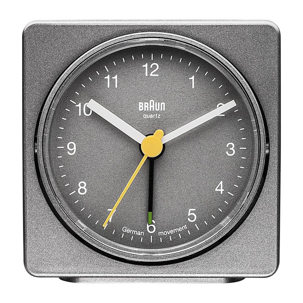 Quartz Alarm Clock, Square - A Classic Alarm Clock