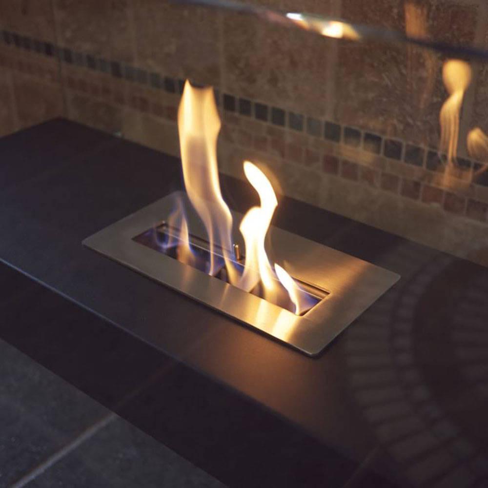 La Strada - A Sleek Fireplace
