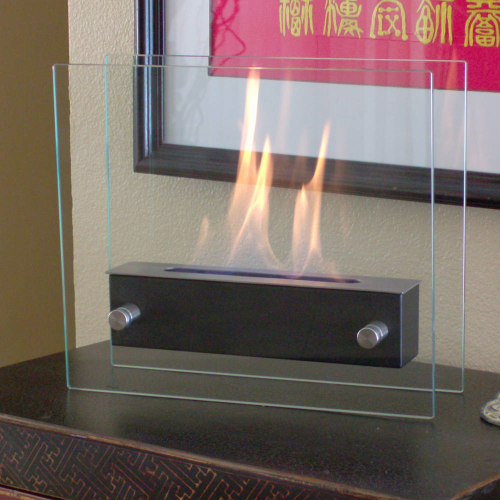 Irradia Noir Fireplace - Modern in Every Sense