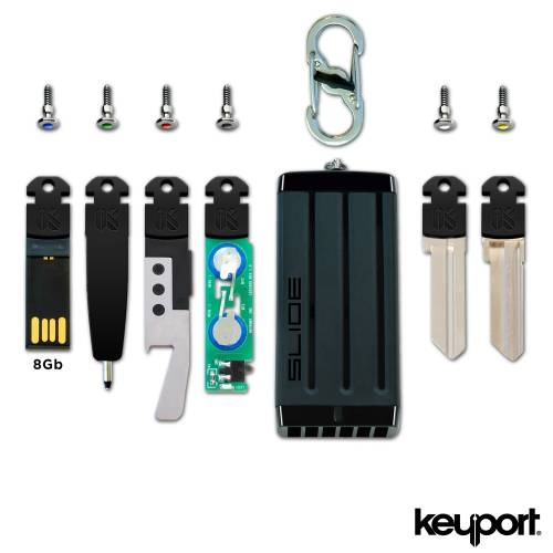 Keyport Slide 2.0 Pro 8 Plus Bundle - Infusing Utility with Style