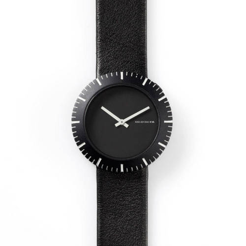 Black Slice Gradation Watch