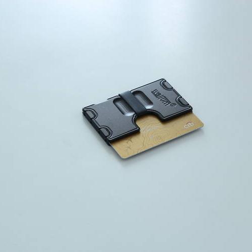 Wallum A1 Silicone Card Holder Wallet   Aluminum Wallet