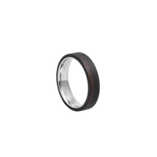 Mono Slim Ebony Ring