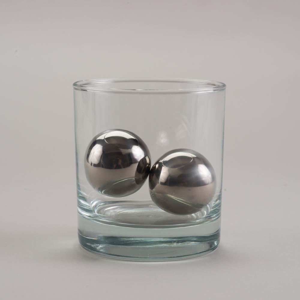 LoBall Whiskey Spheres | Small | Stainless Steel | SipDark
