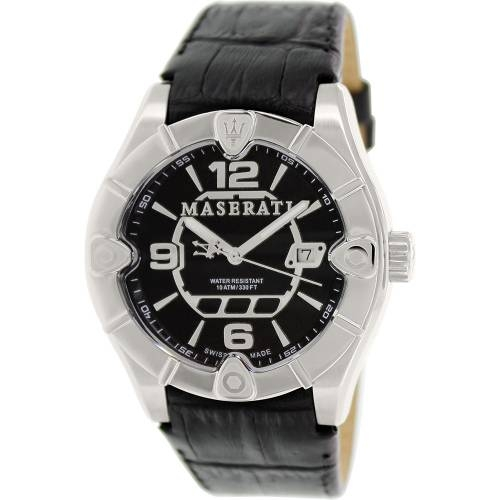 Meccanica Black Swiss, Leather