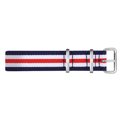 Silver Line Watch, Navy/White/Red II - Paul Hewitt