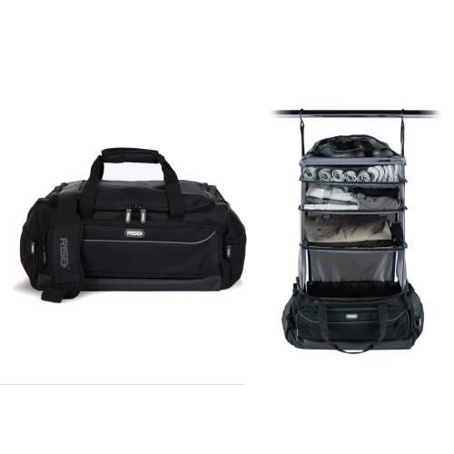 Weekender Duffle Bag | Black&Grey