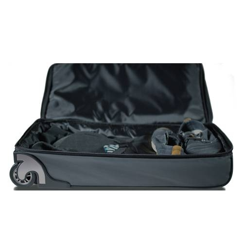 Roller Duffle Bag with Collapsible Shelves   BLUE