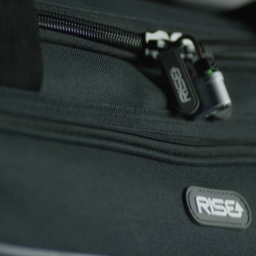 Roller Duffle Bag with Collapsible Shelves - GREY
