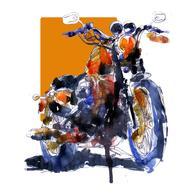 Print | Harley-Davidson Sportster