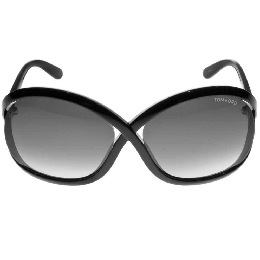 Tom Ford FT0297 01B Sandra Butterfly Sunglasses