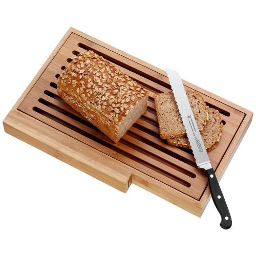Spitzenklasse 3 PC Bread Knife, Bread Board, and Tray
