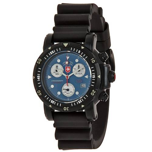 Swiss Military Watches  - SEEWOLF I SCUBA NERO, Blue