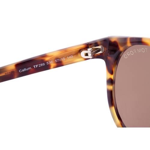 Tom Ford Callum Sunglasses TF289 53E | Tokyo Tortoise Frame