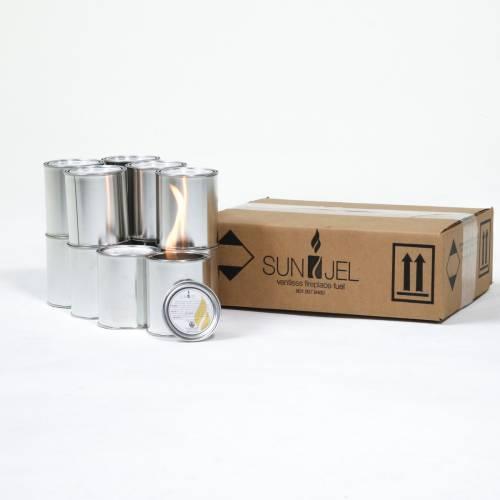 SunJel Citronella 3.5x4 Gel Firespace Fuel