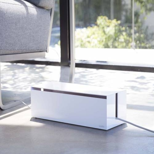 WEB CABLE BOX | White
