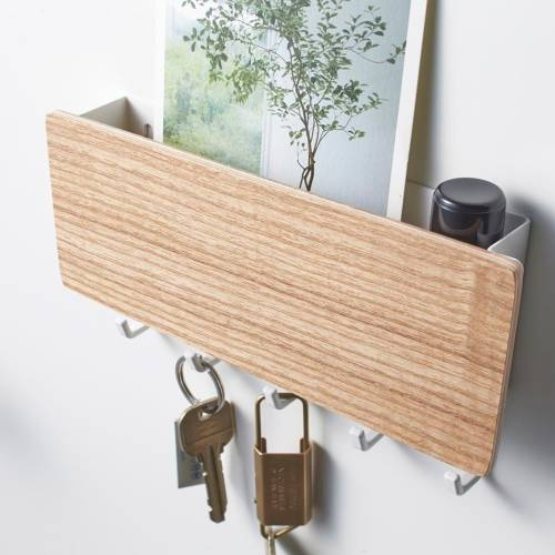 RIN MAGNETIC KEY RACK WITH TRAY