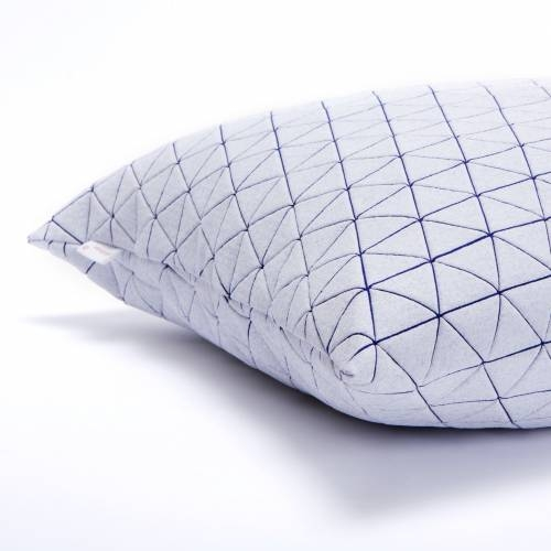 Ilay Pillow Cover, Purple, Mikabarr