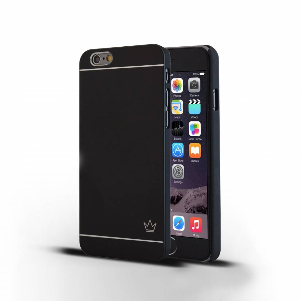 Slim Aluminum iPhone 6 Case | Black | Krown Case