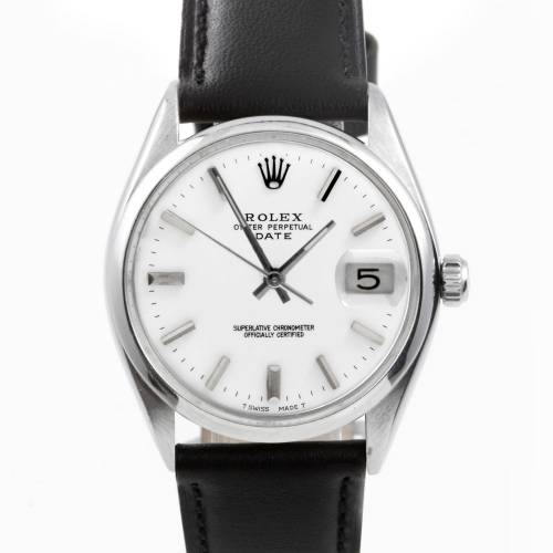Rolex Men's Stainless Steel Date Watch